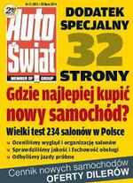 WIELKI TEST SALONÓW 2014 AUTO ŚWIAT - NISSAN BUDMAT AUTO - 3 MIEJSCE!
