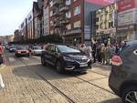 Grupa Dąbrowscy w barwnej paradzie podczas Skarbnikowych Godów 2016r.