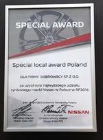 Grupa Dąbrowscy leaderem Nissan w kraju!