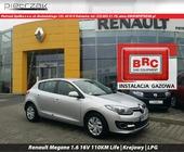 Renault Megane 1.6 16V 110KM Life | Krajowy | Inst. LPG, 2014r.