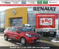 Renault Clio 1.2 16V 75KM   ZEN   Inst LPG   Dealer, 2014r.