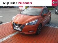 Nissan <em>Micra </em> 0.9 IG-T 90KM. Pojazd demo, kamery 360, Navi, Bose. Okazja!, 2017r.