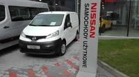 Nissan <em>NV200 </em> 5 lat gwarancji, 2 palety, Beczka 1 m3, Ładowność 795 kg, 2016r.