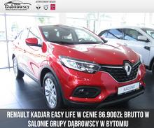 Renault <em>Kadjar </em> Easy Life TCe 140 FAP- Wyprzedaż rocznika w ASO+ opony zimowe, 2019r.