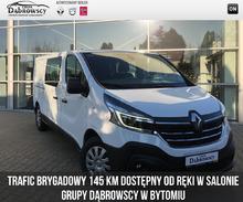 Renault <em>Trafic </em> Furgon Brygadowy Pack Clim L2H1 HD 2.0 Energy 145, 2019r.