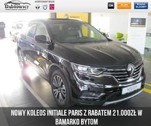 Renault <em>Koleos </em> INITIALE PARIS 2.0 dCi 175 X Tronic 4X4 Wyprzedaż rocznika w ASO, 2017r.