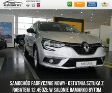 Renault <em>Megane </em> Grandtour SL Limited Energy TCe 130 Samochód z rabatem 12.450zł, 2017r.