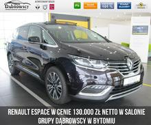 Renault <em>Espace </em> Initiale Paris TCe 225 EDC FAP z rabatem 27.100zł dla Firm, 2019r.