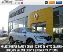 Renault <em>Koleos </em> INITIALE PARIS 2.0 dCi 175 X Tronic 4X4 z rabatem 28000 zł dla Firm, 2019r.