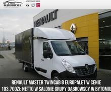 Renault <em>Master </em> 2.3 dCi Energy 170KM TWIN CAB Zabudowa 8 Europalet, 2019r.