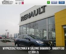 Renault <em>Kadjar </em> 1.2 130 KM Zen- z Pakietami GRATIS, 2016r.