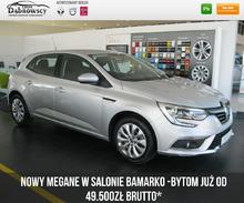 Renault <em>Megane </em> 1.6 115KM Life rok prod. 2018 w cenie już od49500 brutto*, 2018r.