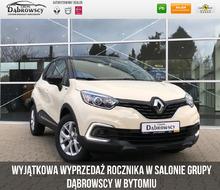 Renault <em>Captur </em> Limited TCe 90 FAP Wyprzedaż w ASO, 2019r.