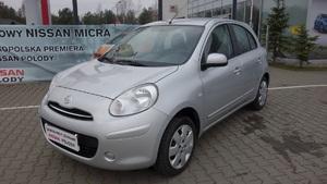 Nissan <em>Micra </em> 1,2(80KM) Visia+AC, 2011r.
