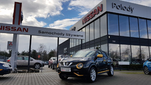Nissan <em>Juke </em> 1,2(115KM) N-CONNECTA/SalonPl/serwis ASO/Gwarancja, 2016r.