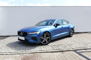 Volvo <em>S60 </em> B5 B 250KM AWD R-design automat, salon PL, gwarancja, I wł. FV23%, 2020r.