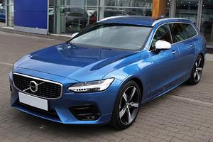 Volvo <em>V90 </em> R-design D4 190 KM automat salon Polska, gwarancja, I właściciel, 2018r.