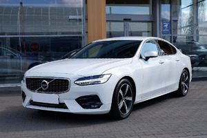 Volvo <em>S90 </em> D4 190KM R-Design automat, salon PL, I właściel, gwarancja, FV23%, 2019r.