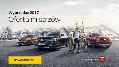 Wyprzedaż Renault 2017 - Oferta Mistrzów
