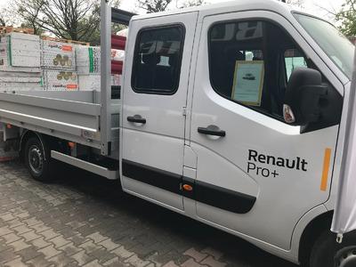 Renault MASTER w Centrum Budowlanym BUSTER w Gliwicach.
