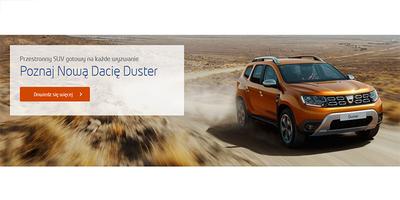 Poznaj Nową Dacię Duster - Przestronny SUV gotowy na każde wyzwanie