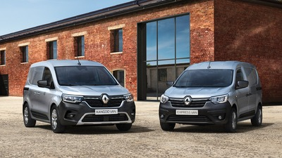 Nowe Renault KANGOO Van i Nowe Renault EXPRESS Van