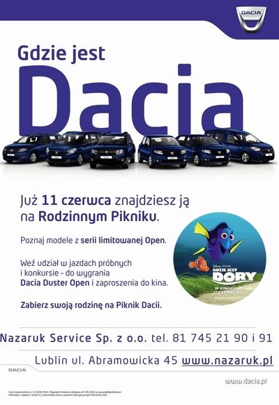 Przeżyj z Dacią rodzinną przygodę!