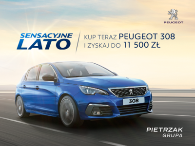 Sensacyjne lato w Peugeot Pietrzak