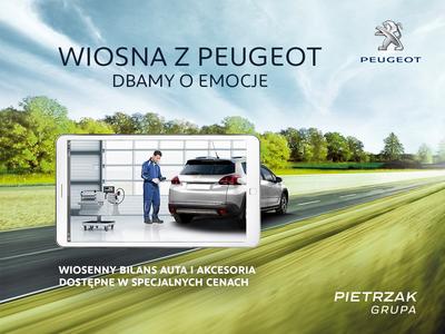 Wiosenna promocja serwisowa Peugeot