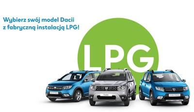 Dacia z Fabryczną instalacją LPG