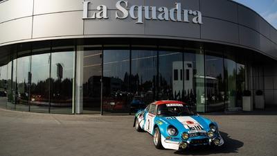 Motoryzacyjny unikat w stajni La Squadra
