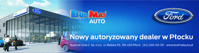 Nowy Autoryzowany dealer Ford w Płocku.