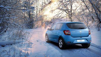 Zima w Serwisie Dacia