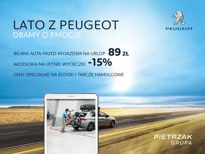 Lato z Peugeot