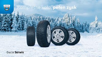 Dacia Serwis - Kompletne koła, pełen zysk!