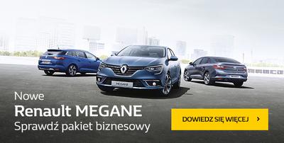 Renault MEGANE  Już od 54 900 zł*, teraz w leasingu 103%