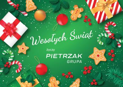 Wesołych Świąt życzy Grupa Pietrzak