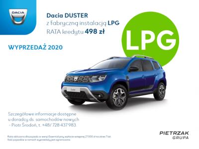 Dacia Duster z LPG