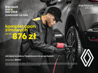 Przygotuj swój samochód do zimy z Renault Pietrzak!