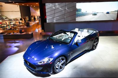 Maserati prezentuje uaktualnioną linię we Frankfurcie