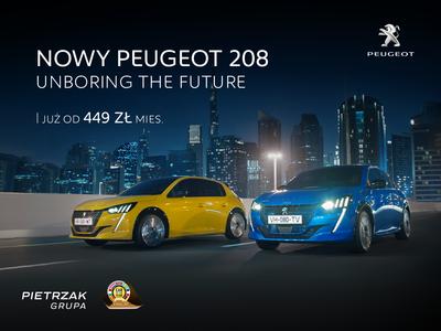 Nowy Peugeot 208 - już od 499 zł/mies.