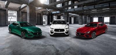 W nowej kolekcji Trofeo - Ghibli i Quattroporte zamieniają się w super-sedany Maserati