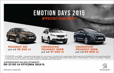 23-24 STYCZNIA - EMOTION DAYS 2015