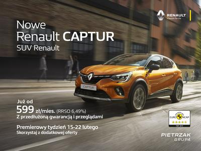 Premierowy tydzień w salonach Renault Pietrzak!