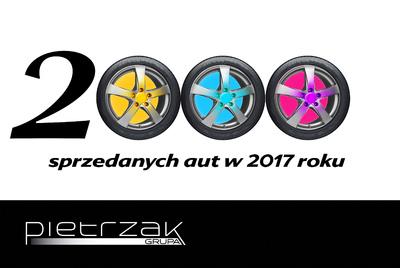 SPRZEDALIŚMY JUŻ 2000 NOWYCH SAMOCHODÓW W 2017 ROKU!