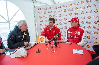 Kimi Raikkonen w Ostrawie testuje razem z nami 488 GTB