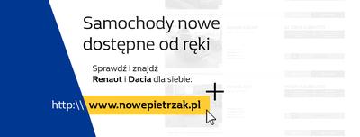 NOWE Renault i Dacia DOSTĘPNE OD RĘKI