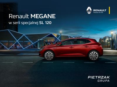 Renault MEGANE w serri specjalnej SL 120