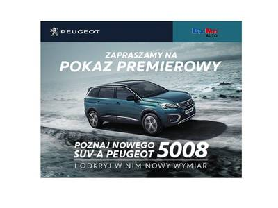 NOWY 7-MIEJSCOWY SUV PEUGEOT 5008