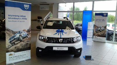 Dacia Duster Elf Cup 2017 - nagroda odebrana!